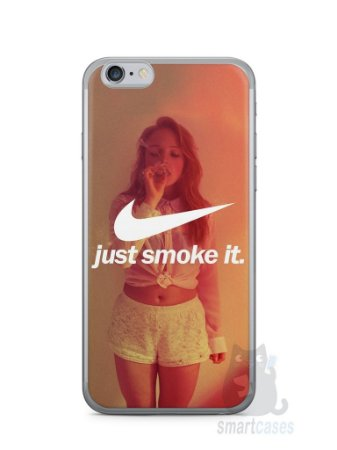Capa Iphone 6/S Just Smoke It