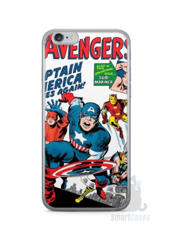 Capa Iphone 6/S The Avengers