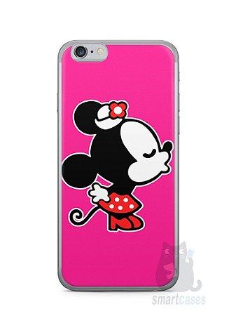 Capa Iphone 6/S Mickey e Minnie Beijo