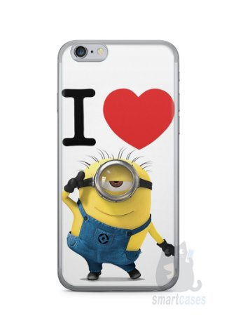Capa Iphone 6/S I Love Minions