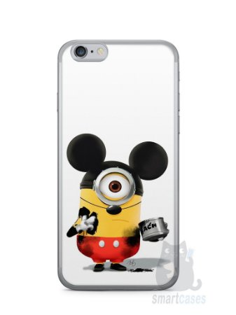 Capa Iphone 6/S Minions Mickey Mouse