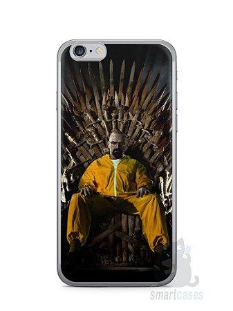 Capa Iphone 6/S Heisenberg Game Of Thrones