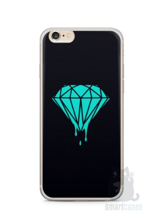 Capa Iphone 6/S Plus Diamante Azul