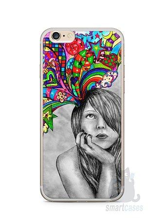 Capa Iphone 6/S Plus Menina Sonhadora