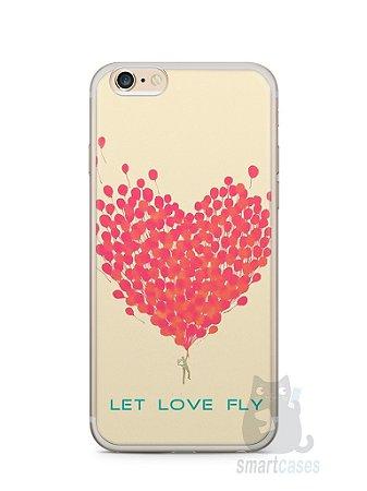 Capa Iphone 6/S Plus Deixe o Amor Voar