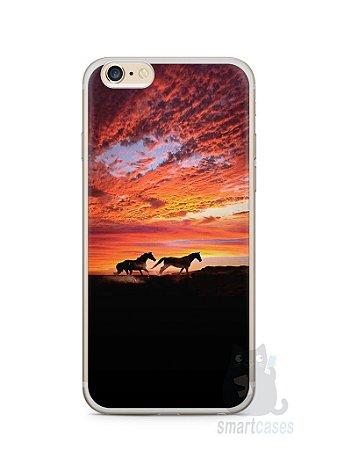 Capa Iphone 6/S Plus Cavalos #1