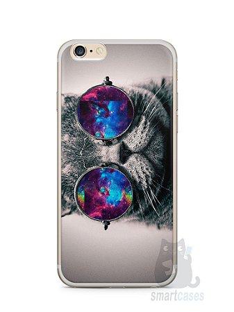 Capa Iphone 6/S Plus Gato Galáxia #1