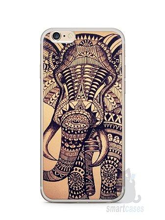 Capa Iphone 6/S Plus Elefante Tribal