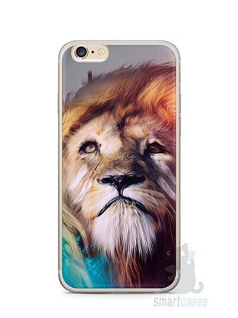 Capa Iphone 6/S Plus Leão Pintura