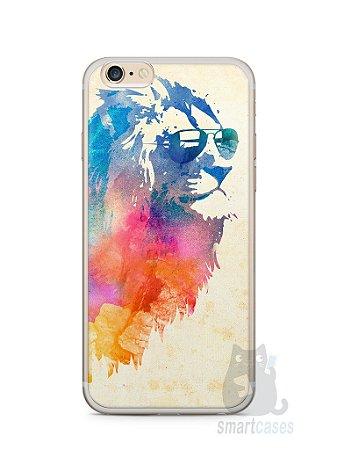 Capa Iphone 6/S Plus Leão Colorido #2