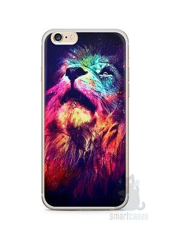 Capa Iphone 6/S Plus Leão Colorido #3