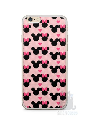 Capa Iphone 6/S Plus Mickey e Minnie