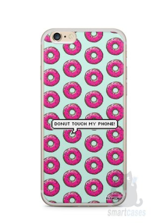 Capa Iphone 6/S Plus Donut Touch My Phone