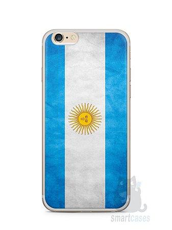 Capa Iphone 6/S Plus Bandeira da Argentina