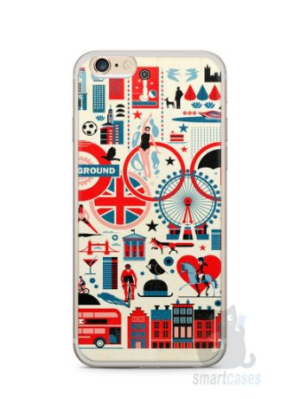 Capa Iphone 6/S Plus Londres #4