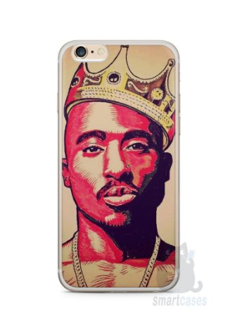 Capa Iphone 6/S Plus Tupac Shakur #1