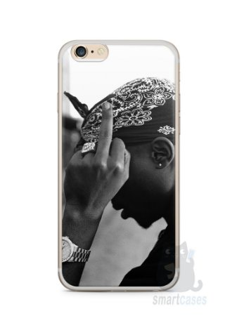 Capa Iphone 6/S Plus Tupac Shakur #2