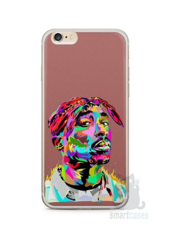 Capa Iphone 6/S Plus Tupac Shakur #4