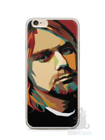 Capa Iphone 6/S Plus Kurt Cobain