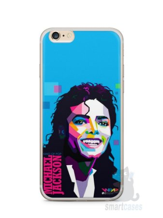 Capa Iphone 6/S Plus Michael Jackson #2