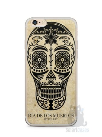 Capa Iphone 6/S Plus Dia dos Mortos #2