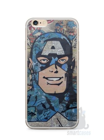 Capa Iphone 6/S Plus Capitão América Comic Books #2