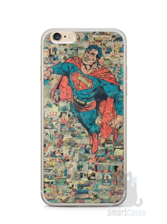 Capa Iphone 6/S Plus Super Homem Comic Books
