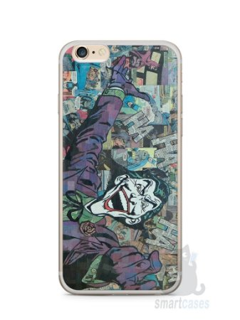 Capa Iphone 6/S Plus Coringa Comic Books