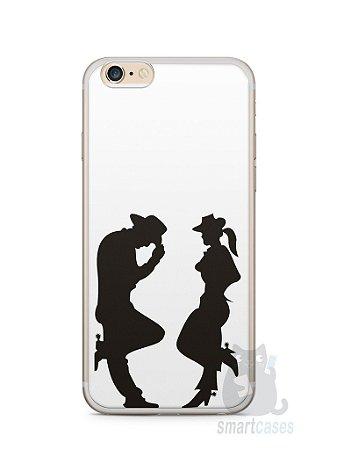 Capa Iphone 6/S Plus Cowboy e Cowgirl