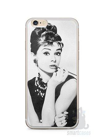 Capa Iphone 6/S Plus Audrey Hepburn #1