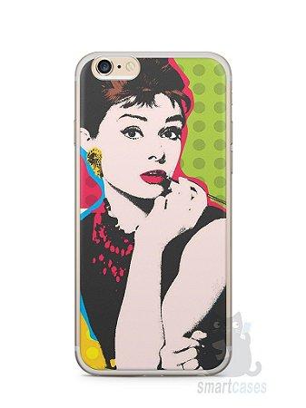 Capa Iphone 6/S Plus Audrey Hepburn #3