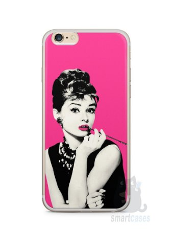 Capa Iphone 6/S Plus Audrey Hepburn #4