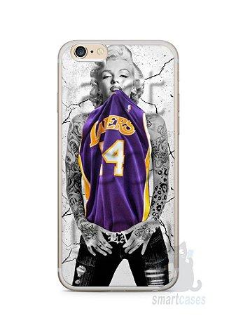 Capa Iphone 6/S Plus Marilyn Monroe Lakers