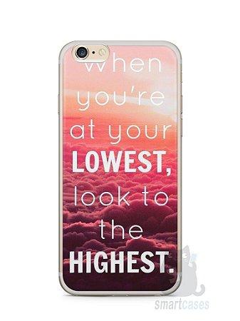 Capa Iphone 6/S Plus Frase #1