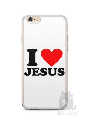 Capa Iphone 6/S Plus I Love Jesus