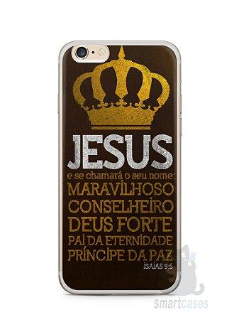 Capa Iphone 6/S Plus Jesus #4