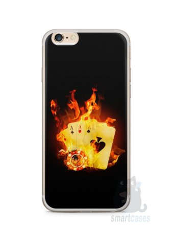 Capa Iphone 6/S Plus Poker #1