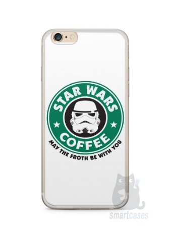 Capa Iphone 6/S Plus Star Wars Coffee