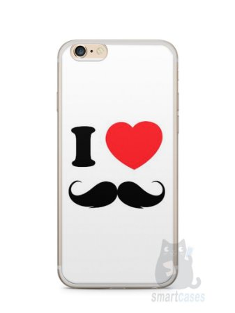 Capa Iphone 6/S Plus I Love Bigode #1