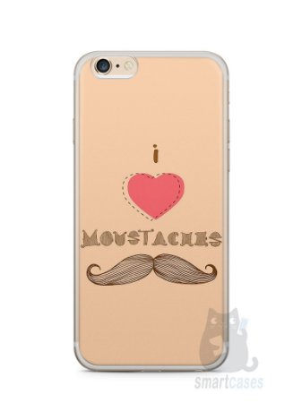 Capa Iphone 6/S Plus I Love Bigode #2