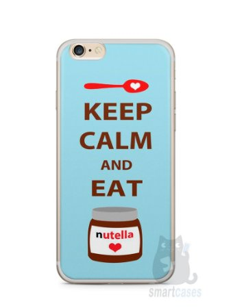 Capa Iphone 6/S Plus Keep Calm and Eat Nutella