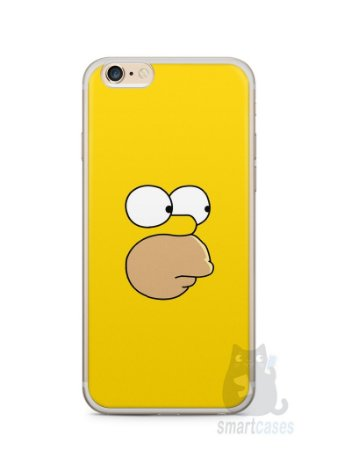 Capa Iphone 6/S Plus Homer Simpson Face