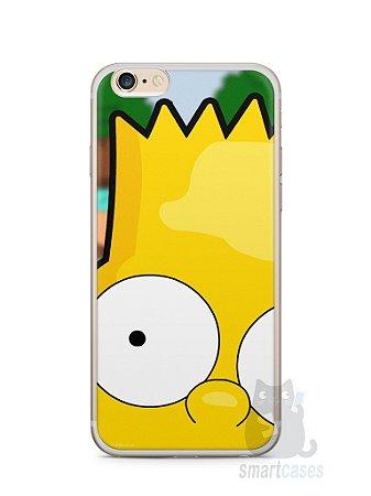 Capa Iphone 6/S Plus Bart Simpson Face