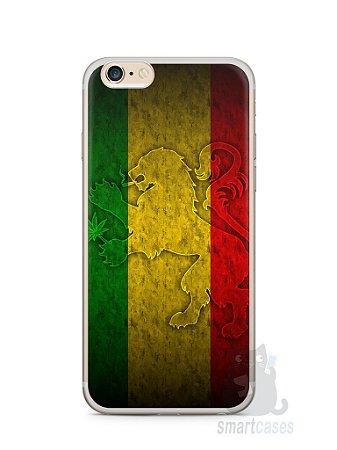Capa Iphone 6/S Plus Rasta Weed #1