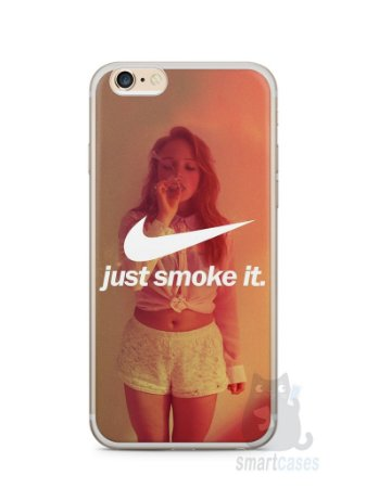 Capa Iphone 6/S Plus Just Smoke It