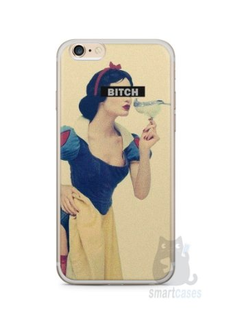 Capa Iphone 6/S Plus Branca de Neve Bitch