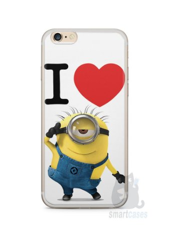 Capa Iphone 6/S Plus I Love Minions