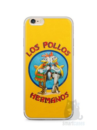 Capa Iphone 6/S Plus Breaking Bad Los Pollos Hermanos #2