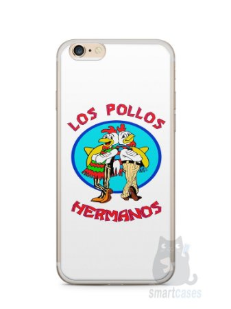 Capa Iphone 6/S Plus Breaking Bad Los Pollos Hermanos #1