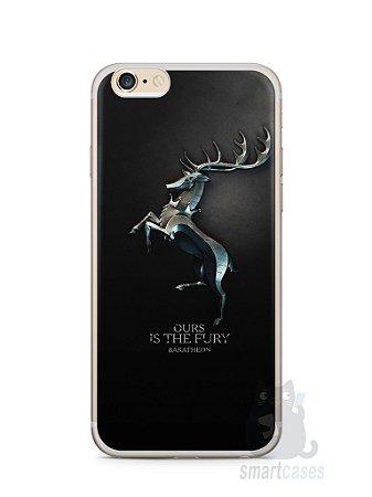 Capa Iphone 6/S Plus Game Of Thrones Baratheon